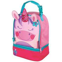 Stephen Joseph Unicorn Lunch Pals Lunch Box with Bottom Comp
