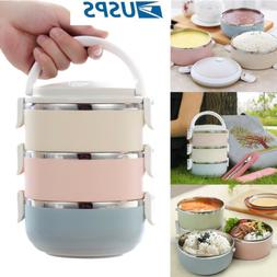 US Lunch Containers Portable Thermal Insulation Stainless St