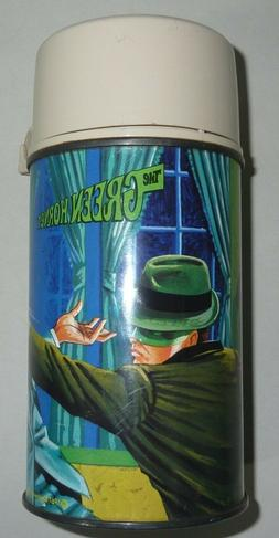 VINTAGE 1967 THE GREEN HORNET METAL LUNCH BOX THERMOS ONLY -
