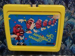 Vintage Thermos Yellow 1987 The California Raisins Lunch Box