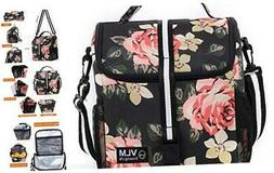 VLM Lunch Bag for Women,Water/Leakproof Insulated Lunch Box
