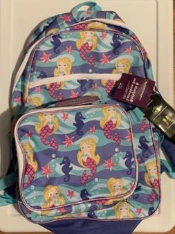 Wexford Backpack Kid Girls Mermaid Strap Zipper Pocket New W
