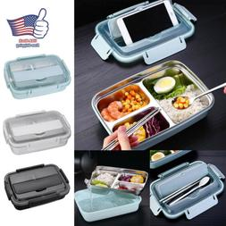 NEW Women Kids Stainless Steel Thermal Insulated Lunch Box B