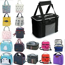 Insulated Lunch Box Lunch Bag Thermal Bento Bag for Adult Ki