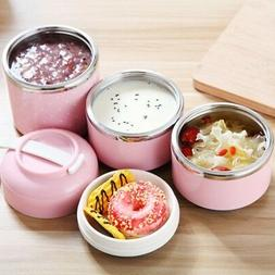 portable stainless lunch box steel thermal insulated
