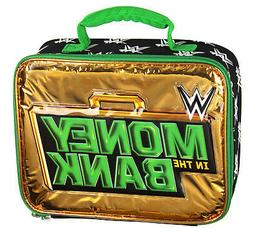 WWE Lunch Box Money In The Bank Briefcase Insulated Lunch Ba