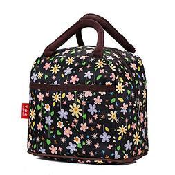 Fashion Zipper Lunch Bag Picnic Box Cosmetic Bag for Women G